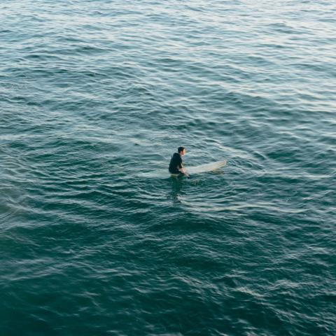 Person on surfboard 3560452