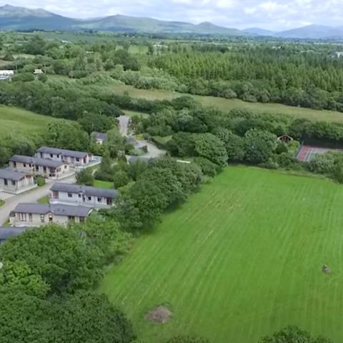 Aerial Lodge Park